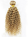1 st. Lockigt Human Hair vävar Brasilianskt hår Human Hair vävar Lockigt