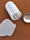 manucure estamper Plate estampe  2.8cm pour the silicone