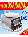uppdaterade professionell q switch nd YAG-laser för borttagning av tatueringar ögonbryn pigment freckle borttagning skönhet maskin