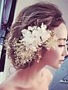 Damen Stoff Kopfschmuck-Hochzeit / Besondere Anlaesse / im Freien Blumen 1 Stueck