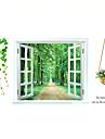 Botanisk / Stilleben / Fashion / Blommig / Landskap / Fritid Wall Stickers Väggstickers Flygplan Dekrativa Väggstickers / Bröllopstickers,