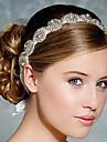 plin de cristal panglica de satin dantelă sus Banda de susținere pentru petrecerea de nunta bijuterii doamnă păr