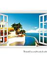 Arkitektur Botanisk Stilleben Mode Landskap Fritid Väggklistermärken Väggstickers Flygplan Dekrativa Väggstickers Bröllopstickers Material