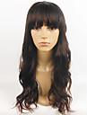 vente chaude perruque noire europeenne des femmes ondulees perruque synthetique complete