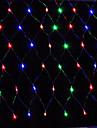 ledde netto ljus 1.5x1.5m 96led netto ljus sträng bröllopsfest semester dekoration xmas ljus eu plug AC220V eller ac110v