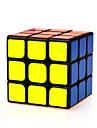 Yongjun® Cube de vitesse lisse 3*3*3 Vitesse Cubes magiques Noir ABS