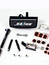 sahoo® cykel cykling punktering däck däck multifunktionella reparationsverktyg set kit& minipump bag