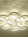 15W Traditionell/Klassisk Flush Mount Lights Målning Metall TakmonteradLiving Room / Bedroom / Dining Room / Sovrum / Matsalsrum /
