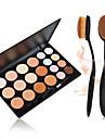 20 Correcteur/ContourPinceaux de Maquillage Sec VisageGloss colore Couverture Blanchiment Anti Peau Grasse Correcteur Tonalite Inegale de
