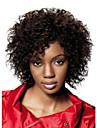 12 pouces femmes afro ondes courtes synthetiques perruque de cheveux noirs avec connexion filet a cheveux