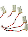 SyMa x5C / x5C-1 batterie explorateurs pieces x5C-11 3.7v 500mah update 3.7v 650mah lipo 3 en 1 ligne de cable x 5pcs