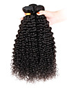 3 Pieces Kinky Curly Tissages de cheveux humains Cheveux Indiens Tissages de cheveux humains Kinky Curly