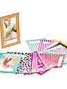 120 feuilles sticker colore photo borde films autocollant pour fujifilm mini INSTAX 7s 8 25 50 90