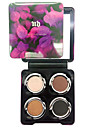 4 couleurs fard a paupieres nude comestic une beaute maquillage durable des couleurs aleatoires