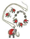 Bijoux Colliers decoratifs / Boucles d\'oreille / Bracelet 3 pieces Bohemia style / A la Mode Soiree / Quotidien / Decontracte 1set Femme