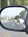 360 grader liten rund spegel efter den justerbara stora hjälp fordon bump döda vinkeln spegel vidvinkelobjektiv