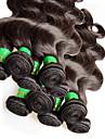 """10pcs 1 kg beaucoup Vente en gros cheveux indiens vierges vague de corps 10 """"~ 28"""" non transformes extensions de cheveux humains trame"""