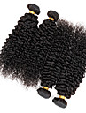 4 Pieces Kinky Curly Tissages de cheveux humains Cheveux Malaisiens Tissages de cheveux humains Kinky Curly