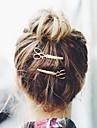 Femme Alliage Casque-Occasion speciale Decontracte Exterieur Barrette Pique cheveux Epingle a Cheveux 2 Pieces