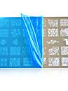 Nail Art Stamping Plate Stamper Scraper 14.5*9.5cm