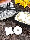 100% ingrediente naturale Favoruri practice-1 Baie & Săpunuri Temă Plajă / Temă Grădină / Temă Florală / Temă Fluture Alb 6*6*3.5 Panglici