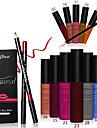 18 Fards+Eyeliner+Rouges a Levres+Autres Sec Humide Levres Dense Gloss colore Humidite Naturel Autre Respirable