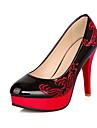 Femme-Mariage Habille Soiree & Evenement-Noir Beige Rouge Bleu-Talon Aiguille Plateforme-A Plateau club de Chaussures Light Up Chaussures-