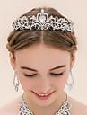Femei Ștras Aliaj Diadema-Nuntă Tiare 1 Bucată