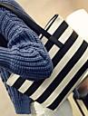 Femme Toile Decontracte / Exterieur Cabas Bleu / Noir
