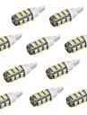 10st T10 25 smd3528 vit färg bil LED-lampor ljus (12V)