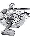 Puzzles Puzzles 3D Puzzles en Metal Blocs de Construction Jouets DIY  Metal Argente Maquette & Jeu de Construction