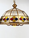 Lumini pandantiv ,  Tradițional/Clasic Tiffany Retro Vopsire Caracteristică for Stil Minimalist MetalSufragerie Dormitor Cameră de