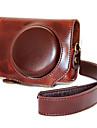 dengpin® PU läder kameraväska väska lock för Canon Powershot G7 x Mark II g7x2 (blandade färger)