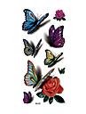 1 Tatouages Autocollants Series animales Non Toxique Motif Impermeable 3DHomme Adulte Tatouage Temporaire Tatouages temporaires