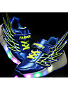 Garcon-Decontracte-Noir Fuchsia Bleu royal Orange-Talon Plat-Rollers Light Up Chaussures-Baskets-Polyurethane