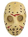 Masque Cosplay Fete / Celebration Deguisement Halloween Jaune Imprime Masque Halloween / Carnaval Unisexe Resine