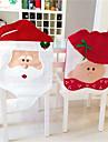 Scaun de Crăciun minunat acoperă mr& sala de mese decor capac scaun de petrecere acasă decor Mrs Moș Crăciun de Crăciun