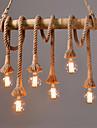 60 Hängande lampor ,  Traditionell/Klassisk Rustik/Stuga Kontor/företag Rustik Vintage Rektangulär Särdrag for Ministil MetallVardagsrum