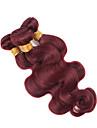 1 Piece Ondulation naturelle Tissages de cheveux humains Cheveux Malaisiens Tissages de cheveux humains Ondulation naturelle