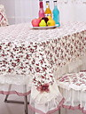 Carre Fleur Nappes de table , 100% Coton Materiel Hotel Dining Table