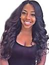 indien remy cheveux humains 8-24inches perruques partie laterale de vague naturelle de style plein ou avant de dentelle de celebrite pour