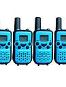 T899446CTCSS4P Talkie-Walkie 0.5W 8 Channels 400 - 470 MHz AAA alkaline battery 3 - 5 kmVOX / latar / Encodage / Avertissement Batterie