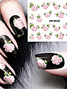 Nail Art Nail Sticker Vatten Transfer Dekaler
