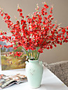 1 Gren Polyester Plast Annat Golvväxt Konstgjorda blommor 108(42.5\'\')