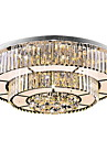 36W Modern/Contemporary LED Glass Flush Mount Living Room / Bedroom / Dining Room / Study Room/Office