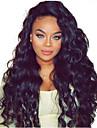 10-28 pouces lache boucles brazilian vierge cheveux humains 130% dentelle de densite devant perruque avec des cheveux de bebe