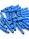 50 x connecteur male balle femelle bleu sertissent cablage bornes