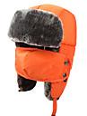 Chapka Chapeau en Fourrure Ski Chapeau Femme Homme Enfant Garder au chaud Snowboard Polyester Jaune Rouge Rose dragee Noir BleuSki