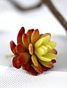 1Branch 1 Une succursale Plastique Violet Fleur de Table Fleurs artificielles 3.93inch/10cm