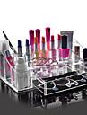 acrylique de haute qualite organisateur cosmetiques tiroir maquillage stockage de cas boite de support d\'insert